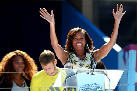Michelle Obama 2013 Arthur Ashe Kids Day YzvZArRhy79l.jpg