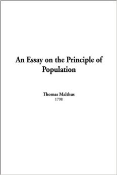 An Essay on the Principle of Population Paperback – February