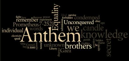 "essays on the novel anthem Read this english essay and over 88,000 other research documents anthem paper ""we do not think of them as liberty 5-3000 any longer we have given them a name in."