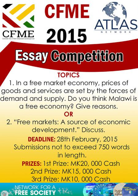 good government essay writing contest