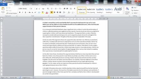 Myself essay 200 words speech
